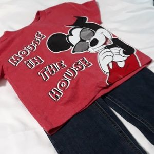 Disney Matching Sets - Calvin Klein Jean's & Disney NWT Shirt 3T
